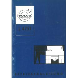 Betriebsanleitung Volvo L...
