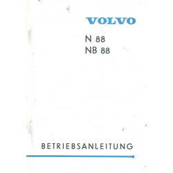 Betriebsanleitung Volvo N /...