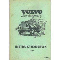 Instruktionsbok Volvo L 230...