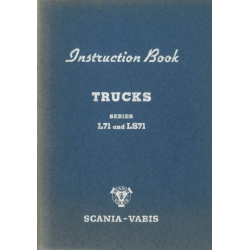 Instruction Book Scania...