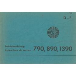 Betriebsanleitung Steyr 790...