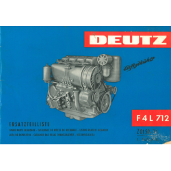 Deutz Motor F 4 L 712...